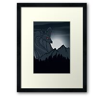 Smaug the Magnificent Framed Print