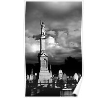 Bendigo Cemetery Grave Stone Poster