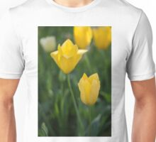 Yellow Crown Tulips Unisex T-Shirt