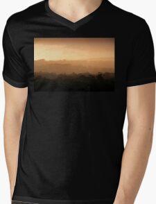 Evening Light in the Hills Mens V-Neck T-Shirt