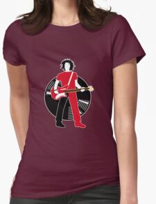 Jack The Axe-pander - Jack White III (White Stripes Edition) Womens Fitted T-Shirt