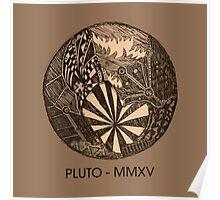Pluto Sketch Poster