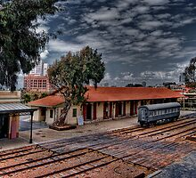 Tel Aviv, The Old Railway Station: A look from above by Ronsho