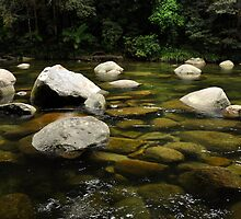 Granite Boulders at Mossman Gorge by Barbara Burkhardt