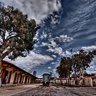 Tel Aviv, The Old Railway Station: the wagon between by Ronsho