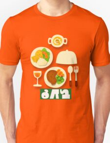 Splatfest Team Eat v.4 Unisex T-Shirt