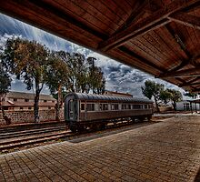 Tel Aviv, The Old Railway Station: is it a dream? by Ronsho