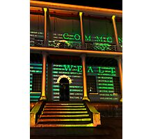 Steps to Uncommon Wealth Photographic Print