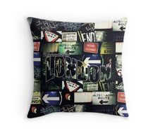Welcome To London - Sherlock Version #3 Throw Pillow