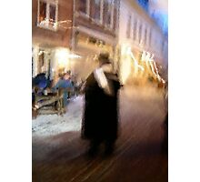 Christmas in (C)old Kampen Photographic Print
