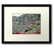 Chiang Mai in colour Framed Print