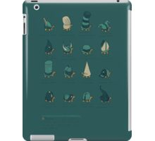 A Study of Turtles iPad Case/Skin