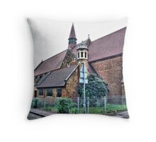 Out of Date Throw Pillow