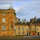 """Holyrood Palace featured in """"Postcard Destinations"""" by ©The Creative  Minds"""