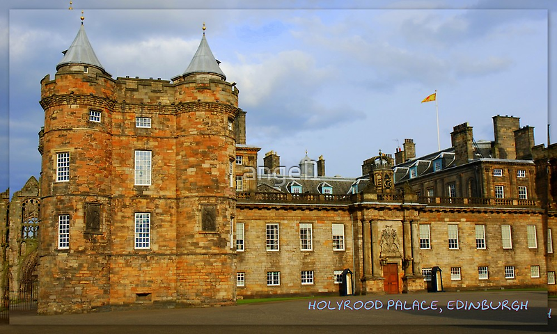 "Holyrood Palace featured in ""Postcard Destinations"" by ©The Creative  Minds"