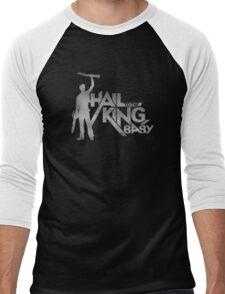 Evil Dead - Hail To The King [Dark] Men's Baseball ¾ T-Shirt