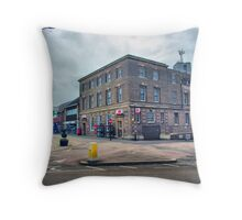 Kettering Post Office Throw Pillow