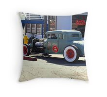 Z's Garage Service & Repair Throw Pillow