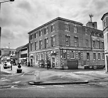 Kettering Post Office B&W by Robyn Maynard