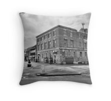 Kettering Post Office B&W Throw Pillow