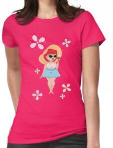 Summer Love Womens Fitted T-Shirt