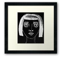 Black Zelda Framed Print