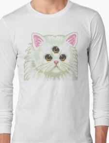 Cyber Cat Long Sleeve T-Shirt