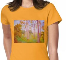 Ghost Gums  Womens Fitted T-Shirt