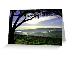 South Australia Barossa Landscape Greeting Card
