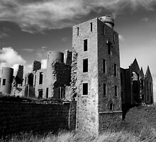 New Slains Castle by Vic Sharp