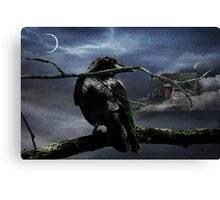 "Quoth The Raven, ""Nevermore"" Canvas Print"