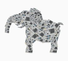 mpc elephant by waxmonger