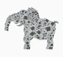 mpc elephant by waxmonger