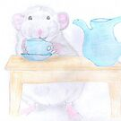 Rosie having a coffee break by LadyE