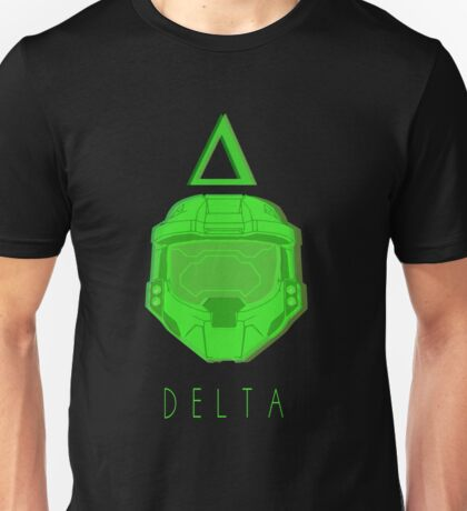 Red Versus Blue | Project Freelancer: Delta Unisex T-Shirt