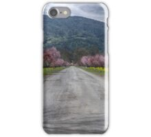 Napa Vineyard Road iPhone Case/Skin