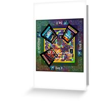 ETHOS - the game - DC CRUISERS 2 Greeting Card
