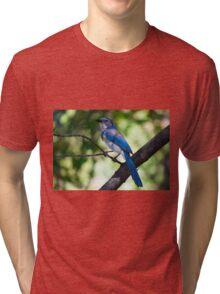 Scrub J Closeup Tri-blend T-Shirt