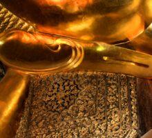The Reclining Buddha, Wat Pho, Bangkok, Thailand  Sticker