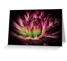 Summer star (Flowers collection) Greeting Card