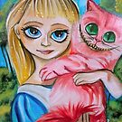 ALICE IN WONDERLAND CHESHIRE CAT by gordonbruce