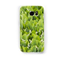 Beautiful Lily of the Valley flowers Samsung Galaxy Case/Skin