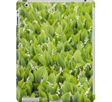 Beautiful Lily of the Valley flowers iPad Case/Skin