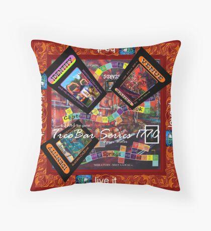 ETHOS - the game - 1770 TREE bar 2 Throw Pillow