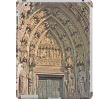 Entrance, Cologne Cathedral, Germany iPad Case/Skin