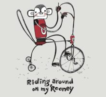 Riding around on my Rooney by KenRinkel