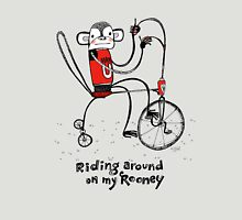 Riding around on my Rooney Unisex T-Shirt