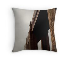 High level bridge Throw Pillow