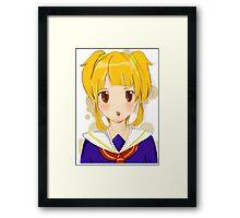 Lovely girl Framed Print