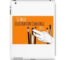 Rectangle 52-week Challenge Logo iPad Case/Skin